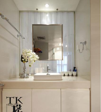 洗手间装修效果图 小空间视觉大冲击