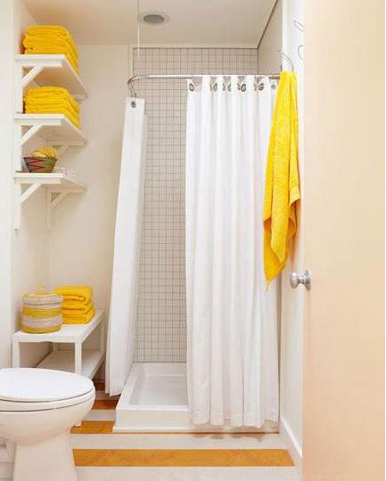 小卫生间装修效果图 我要清凉洗浴间